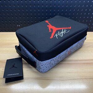 Nike Air Jordan Shoe Box Bag 9B0388-KG5 Black Cement Retro Size Large