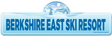 Berkshire East Ski Resort Street Sign | Snowboarder, D�cor for Ski Lodge, Cabin