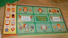 Vintage 1962 TRIPOLEY JUNIOR board game by Cadaco CROWN EDITION