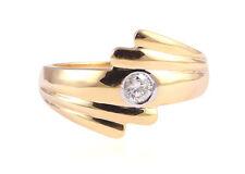0.20 Cts Round Brilliant Cut Natural Diamond Band Ring In Fine Hallmark 18K Gold