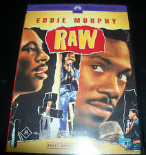Raw - Eddie Murphy (Australian Region 4) Comedy DVD - New