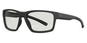 Smith CARAVAN MAG 0003 KI Matte Black/ Grey Polarized Lens Sunglasses New