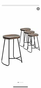 Temple & Webster Stools 4 Set Brand New in box