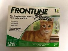 Genuine Frontline Plus for Cats (8 weeks +, 3 Months Supply)