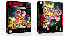 - Mighty Morphin Power Rangers SNES Replacement Game Case Box + Cover Only