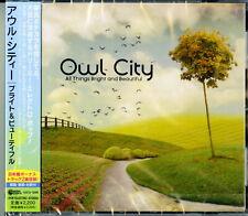 OWL CITY-ALL THINGS BRIGHT AND BEAUTIFUL-JAPAN CD BONUS TRACK E50