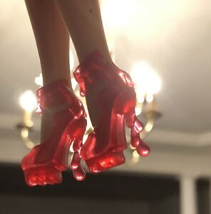 """Barbie Doll Size Candy Apple Heels """"Adorable"""" *Free Gift"""