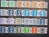 GB 1971> Specialised Machin Collection(24)~X899-X915~Unmounted Mint~D~UK