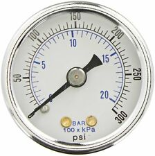 Air Compressor Dry Gauge 0-300 PSI Replaces Stanley Bostitch AB-9414744
