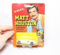 ERTL No 1820 Matt Houston Excalibur In Its Original Box - Mint 1983 Rare