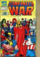 Infinity War #1-1992 nm- 9.2 Avengers Jim Starlin Thanos Giant-Size