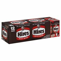 HIRES HIRES, SODA ROOT BEER 12PK, 12 OZ, (Pack of 2)