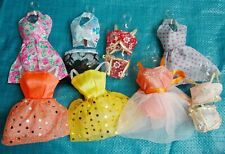 """Fashion 25P(10Small formal attire+10 shoes + 5 hangers) for 11.5"""" Doll Clothes"""