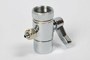 """Faucet Adapter Diverter Valve Counter Top Water Filter Connect to 1/4"""" Tubing US"""
