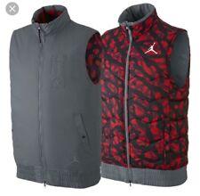 Air Jordan Reversible Winter Puffer Vest Size Large New Free Ship USA
