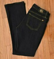 "Rock & Republic Women's Jeans Kasandra Bootcut Stretch Dark Wash Size 10 M L32"""