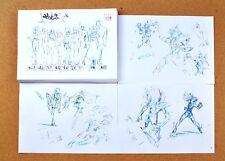 Saint Seiya Ω settei sheets
