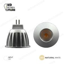 FARETTO LED COB SHARP MR11 3W LUCE NATURAL NATURALE 4000K 4500K
