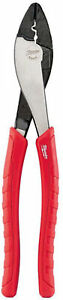 Milwaukee Electrical Wire Stripper Cutting Terminal Crimping Plier Hand Tool NEW