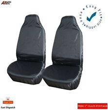Car Seat Covers Protector Waterproof Pair Front Universal Van Nylon Heavy Duty