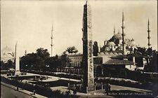 Constantinolel Istanbul Türkei AK ~1930 Mosquée Sultan Ahmed et l'Hippodrome