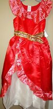 Disney Store Elena of Avalor Girls Costume Dress Up Princess  Outfit 11/12