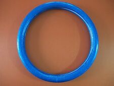 """15""""38cm Deep Blue Glitter Glossy Leather Vehicle Car Steering Wheel Cover"""