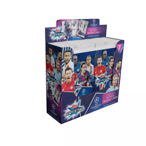 2019/20 Topps Champions League CRYSTAL 24 Pack HOBBY Box-168 Cards! HAALAND RC!