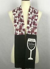 "Kitchen Towel Boa Wine O'Clock Theme  ByDesign Serving 68"" Long"