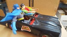 Mego batman robin and batmobile vintage 1970s very nice condition