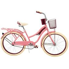 Huffy 54578 Nel Lusso 24 inch Cruiser Bike -Pink Blush Powder Free Shipping