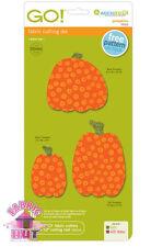 55323- Accuquilt GO! Cutter, Big & Baby Pumpkins Fabric Die Holiday Thanksgiving