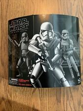 Star Wars Black Series First Order Riot Gear Stormtrooper (Amazon Exclusive) New