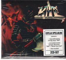 KAT 666 METAL AND HELL 2CD NEW SEALED LIMITED / IRON MAIDEN TSA TURBO SKAWALKER