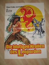 Die blutigen Krallen des Leoparden - KINOPLAKAT A1- Leung Ka-Yan Iron Fisted War