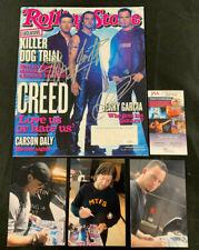 Creed Rock Band Hand Signed Autographed 2002 Rolling Stone Magazine Jsa/Coa