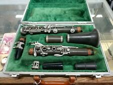 Boosey & Hawkes B & H Black Finish Clarinet Brown Hard Case