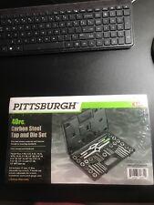 PITTSBURGH METRIC 40 PC CARBON STEEL TAP & DIE SET - BRAND NEW (bt)