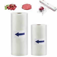 2 Roll 8X50 11X50 Food Saver Vacuum Sealer Bags 4 mil Embossed FoodSaver Storage