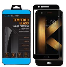 Full Coverage Premium Tempered Glass Screen Protector for LG K20V (Verizon)