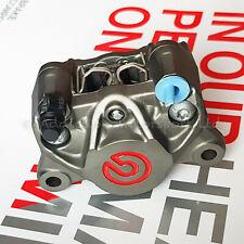Brembo Racing P2 34mm Rear Axial Brake Caliper with Pads,Red Logo - 20B85273