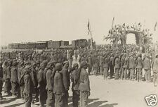 """Ottoman Turkish Army Train Beersheba Israel World War 1, 6x4"""" Reprint Photo 2"""
