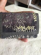 VASARI  Gentlemans Grey Canvas Trifold Wallet.
