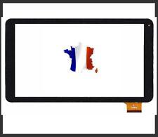 Vitre pour ecran tactile pour Logicom L-Ement Tab 1001 1040 1043 HK10DR2496 noir