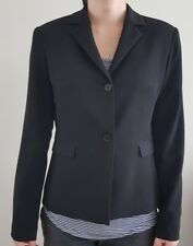 CUE Women's Blazer Black - work or casual - size 8