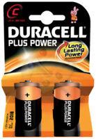 2 X Batteria Duracell pila alcalina mezzatorcia C cod. 0014