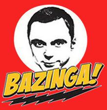 Bazinga Dr Sheldon Copper Big Bang Theory Nerdy  Funny T-Shirt Tee