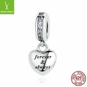 My Beautiful Wife Clear CZ Beads Charm,925 Sterling Silver DIY Jewelry For Women
