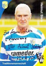 Helmut Stein (DDR), FC Carl Zeiss Jena 2 x Meister original signiert/signed !!!