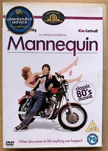 Mannequin DVD 1987 Dummy Romcom Classic with Kim Cattrall and Andrew McCarthy